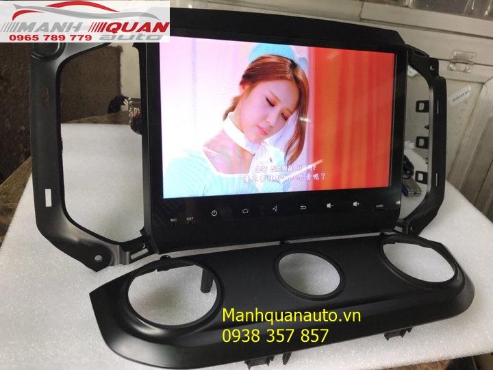 Đầu DVD Android Cao Cấp Giá Rẻ Cho Dòng Xe Chevrolet Trailblazer | 0965789779