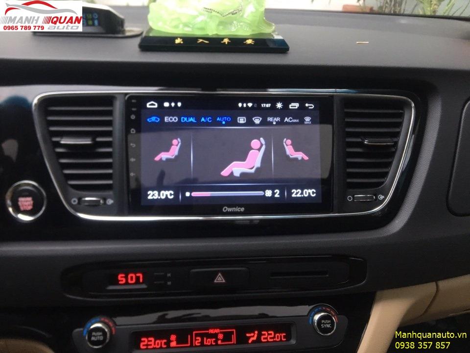 Đầu DVD Ownice C500+ Cho Kia Sedona - Mạnh Quân Auto