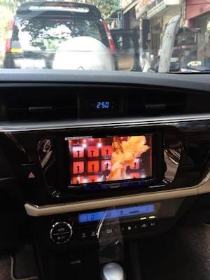 Đầu DVD Theo Xe Toyota Altis 2016