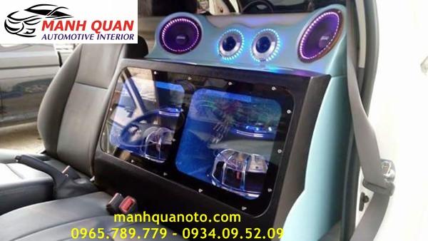 Độ Âm Thanh Cho Hyundai Santafe Chuyên Nghiệp