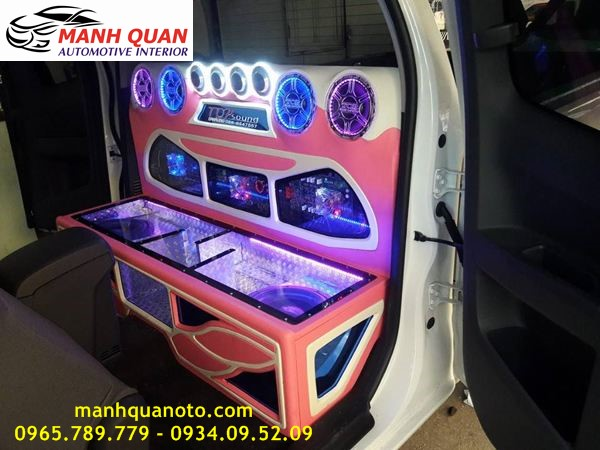 Độ Âm Thanh Cho Mitsubishi Pajero Sport Chuyên Nghiệp