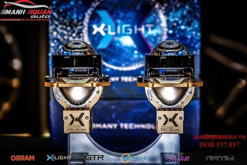 Độ Bi Laser X-Light V20L cho xế yêu