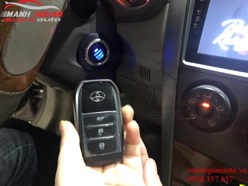 Độ Chìa Khóa Thông Minh Cho Toyota Altis - Để Nổ Từ Xa
