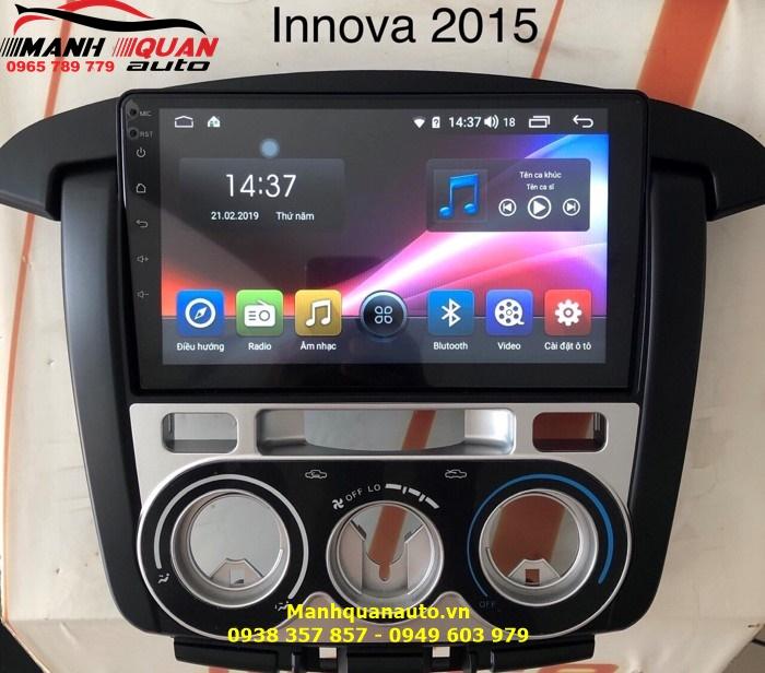 DVD Android Mới Cao Cấp Cho Toyota Innova 2010-2015 | Mạnh Quân