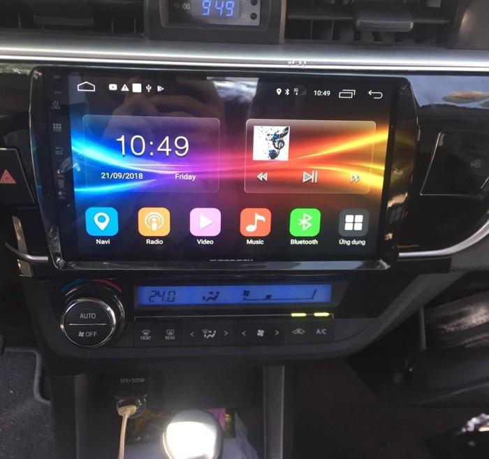 DVD Android Zestech Cho Toyota Altis 2015 - 2017 | Mạnh Quân Auto