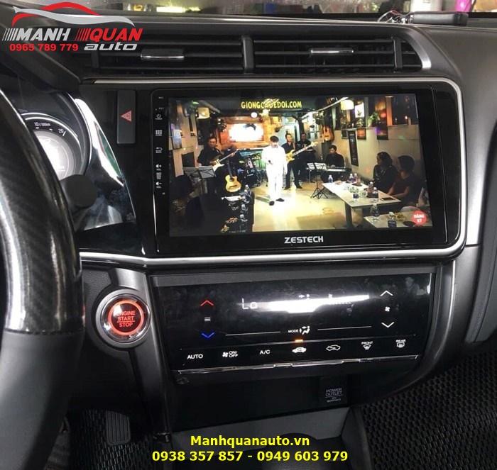 DVD Zestech Lên Hình Sắc Nét Cho Honda City 2016   Mạnh Quân Auto