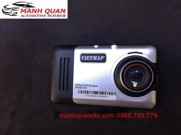 Gắn Camera Hành Trình VietMap A45 Ghi Hình Trước Sau Cho Chevrolet Aveo