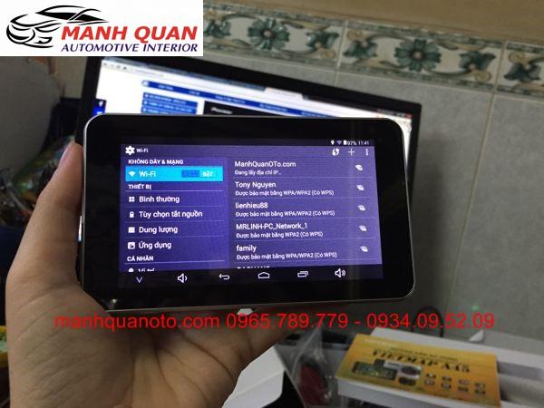 Gắn Camera Hành Trình VietMap A45 Ghi Hình Trước Sau Cho Daewoo Matiz Groove