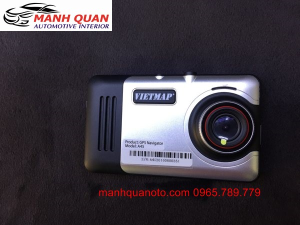 Gắn Camera Hành Trình VietMap A45 Ghi Hình Trước Sau Cho Toyota Fortuner
