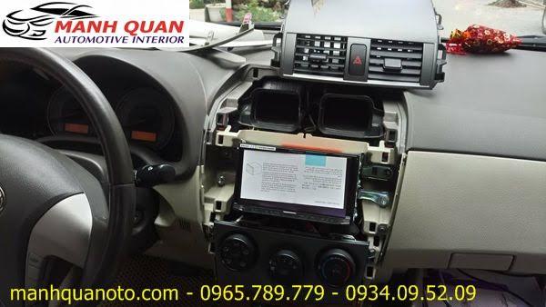 Gắn Màn Hình DVD Pioneer AVH-X8850BT Chính Hãng Cho Subaru Outback Tại Quận Gò Vấp