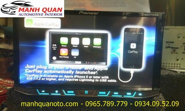 Gắn Màn Hình DVD Pioneer AVH-X8850BT Chính Hãng Cho Toyota Hilux