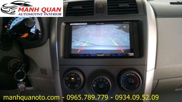 Gắn Màn Hình DVD Pioneer AVH-X8850BT Chính Hãng Cho Toyota Land Cruiser Prado