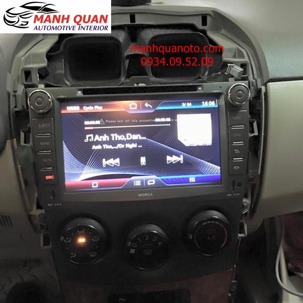 Gắn Màn Hình Dvd Pioneer Cho Toyota Altis Tại Thành Phố Hồ Chí Minh