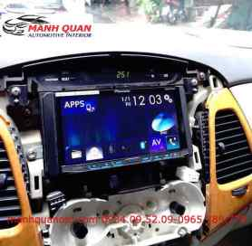 Lắp  Màn Hình DVD Toyota Innova Đời 2010
