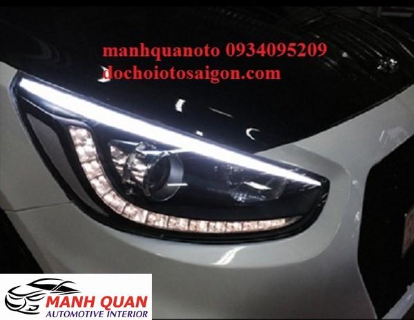 Lắp Bóng Đèn LED Cho Xe Toyota Fortuner