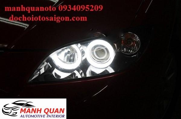 Lắp Bóng Đèn LED Cho Xe Toyota Sienna