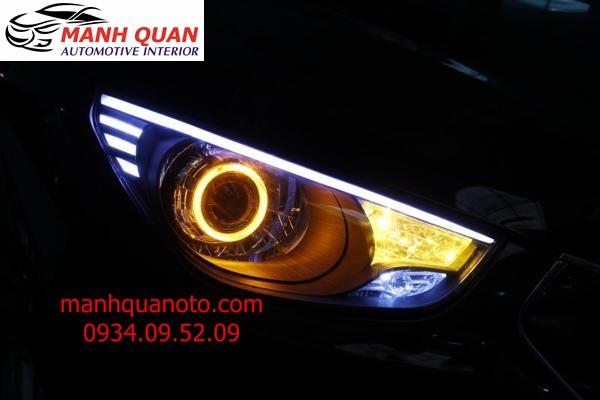 Lắp Bóng Đèn Xenon, Đèn LED Cho Xe Kia K3