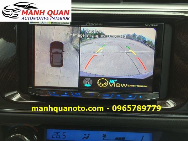 Lắp Camera 360 Độ Cho Hyundai Accent | Camera 360 Oview Hàn Quốc