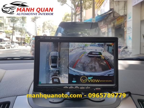 Lắp Camera 360 Độ Cho Hyundai Santafe | Camera 360 Oview Hàn Quốc