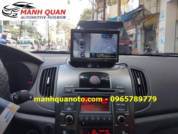 Lắp Camera 360 Độ Cho Kia Carens | Camera 360 Oview Hàn Quốc