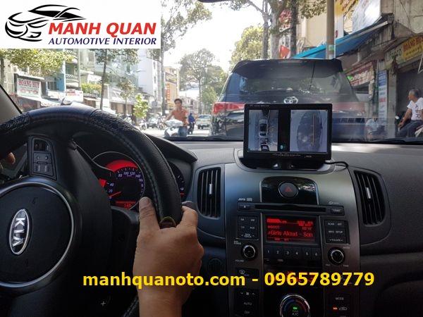 Lắp Camera 360 Độ Cho Kia Rondo | Camera 360 Oview Hàn Quốc