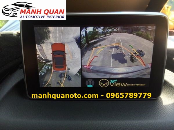 Lắp Camera 360 Độ Cho Mazda 6 | Camera 360 Oview Hàn Quốc