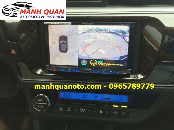 Lắp Camera 360 Độ Cho Mitsubishi Grandis | Camera 360 Oview Hàn Quốc