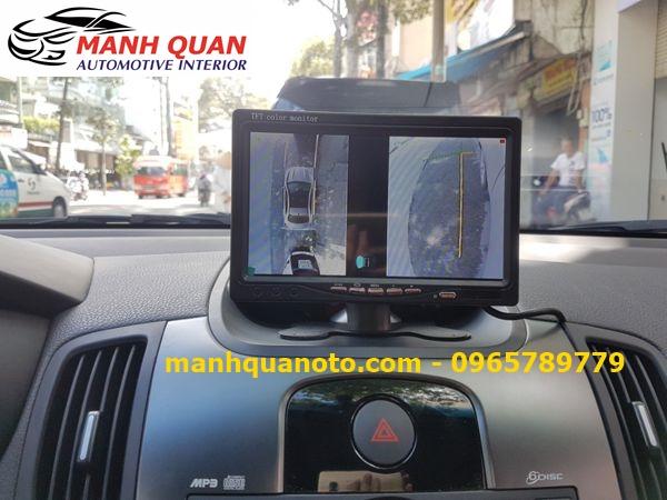Lắp Camera 360 Độ Cho Toyota Highlander | Camera 360 Oview Hàn Quốc