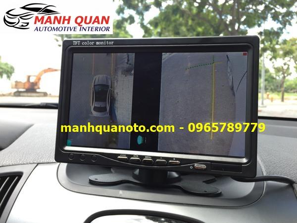 Lắp Camera 360 Độ Cho Toyota Land Cruiser Prado | Camera 360 Oview Hàn Quốc
