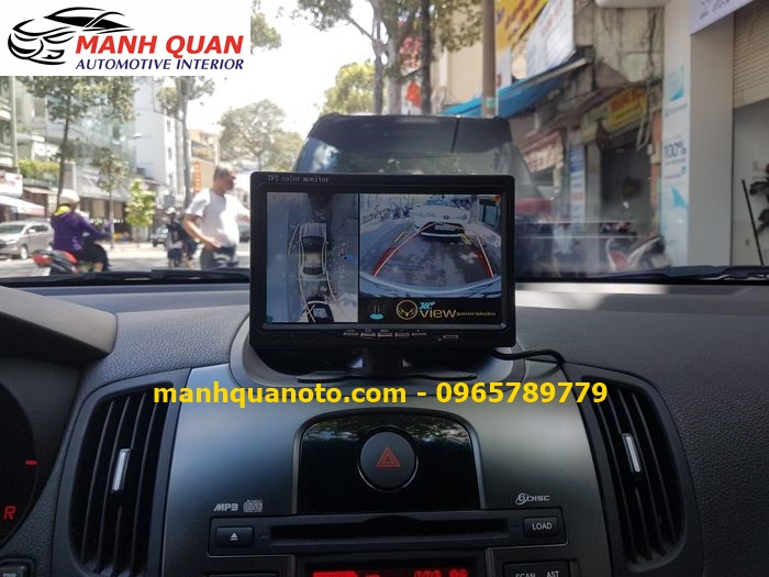 Lắp Camera 360 Độ Cho Toyota Yaris | Camera 360 Oview Hàn Quốc