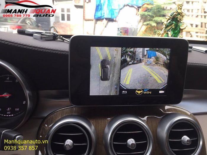 Lắp camera 360 Độ Owin Cao Cấp Cho Mercedes Benz | 0965789779