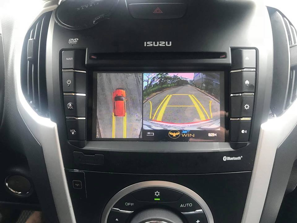 Lắp Camera 360 Độ Owin Cho Xe Isuzu MU-X Tại Mạnh Quân Auto