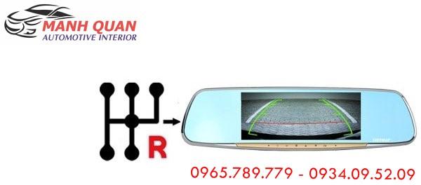 Lắp Camera Hành Trình Gương VietMap G68 Cho Nissan Urvan
