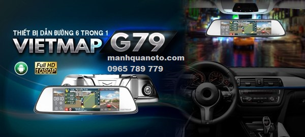 Lắp Camera Hành Trình VietMap G79 Cho Mazda 6 | 0965789779
