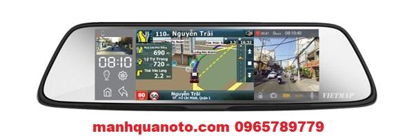 Lắp Camera Hành Trình VietMap G79 Cho Pajero Sport| 0965789779