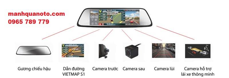Lắp Camera Hành Trình VietMap G79 Cho Toyota Innova | 0965789779