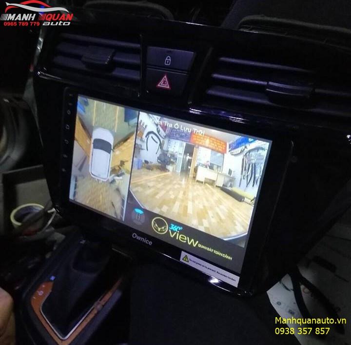 Lắp Combo Đầu DVD Ownice C500+ Và Camera 360 Oview Hyundai i20