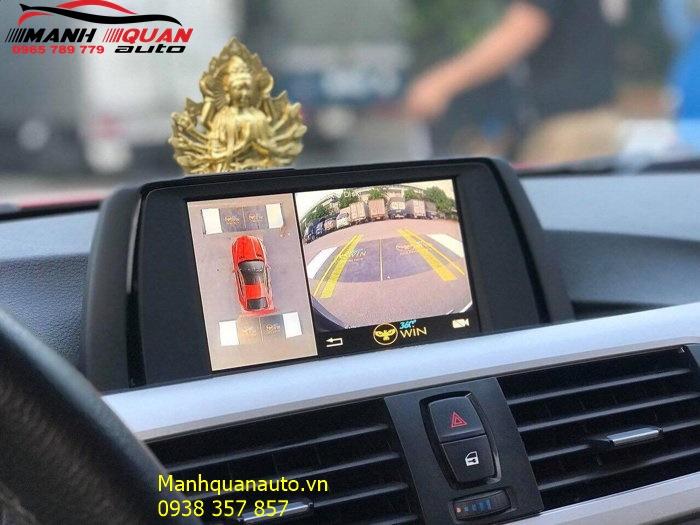 Lắp Đặt Camera 360 Độ Owin Pro Cho BMW 320i Tại Thành Phố Hồ Chí Minh