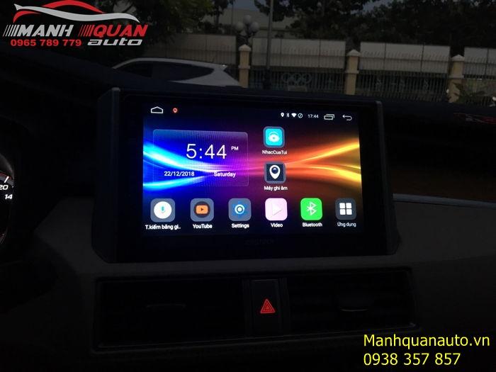 Lắp Đặt Màn Hình Android Zestech Cho Mitsubishi Xpander tại Gò Vấp