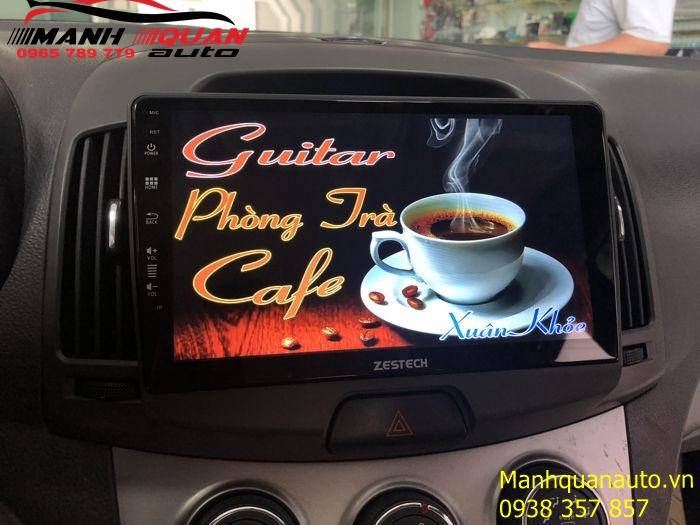 Lắp Màn Hình Android Zestech Cho Hyundai Avante 2011-2014 | Mạnh Quân Auto