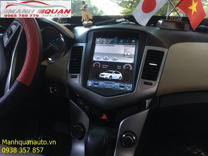 Lắp Màn Hình DVD Tesla Cho Chevrolet Cruze Giá Rẻ Tại Tp Hồ Chí Minh