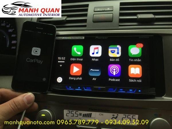 Lắp Màn Hình DVD Theo Xe Toyota Camry 2016 Tại Huyện Nhà Bè   DVD Cao Cấp