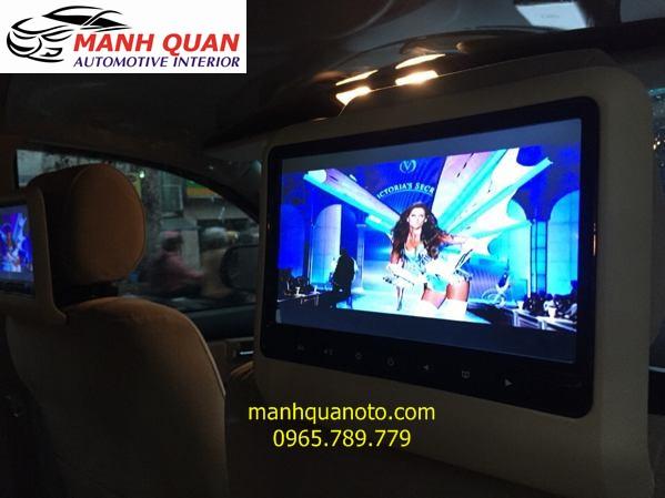 Lắp Màn Hình Gối Đầu Cao Cấp Cho Xe Nissan Murano