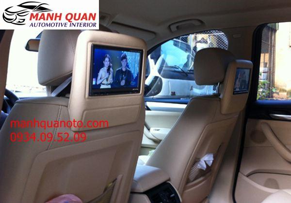 Lắp Màn Hình Gối Đầu Cao Cấp Cho Xe Nissan Teana