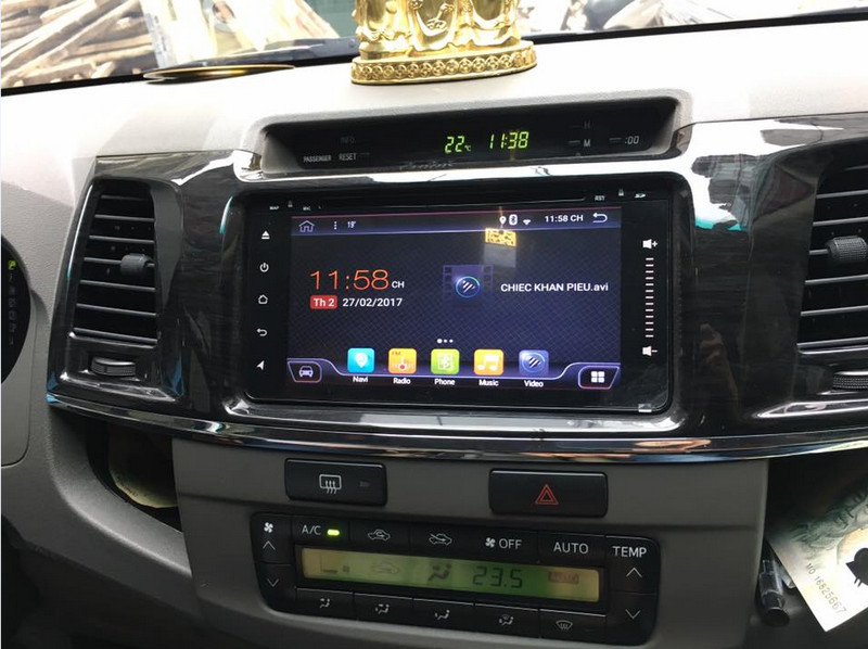 Màn Hình Android Cao Cấp Chính Hãng Cho Xe Toyota Fortuner 2018 | 0938357857