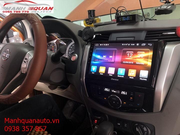 Màn Hình Android Chính Hãng Giá Rẻ Cho Nissan Navara 2018 | 0965789779