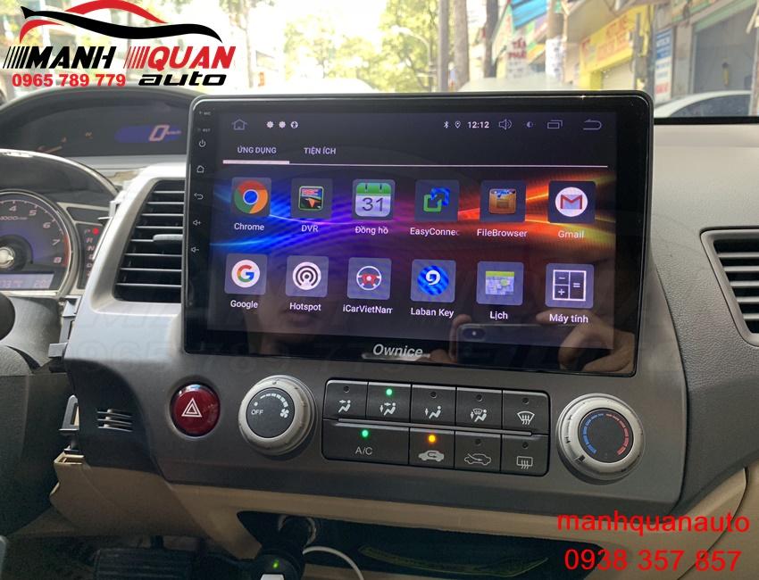 Màn Hình Android Ownice C800 Pro Cho Honda Civic Chính Hãng Tại TP.HCM