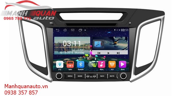Màn Hình DVD ( Đầu DVD) Android Cao Cấp Giá Rẻ Cho Hyundai Creta