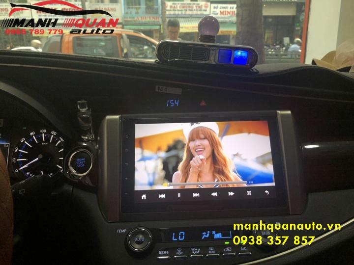 Màn Hình DVD Android Cắm Jack Zin Cho Xe Toyota Innova | 0938357857