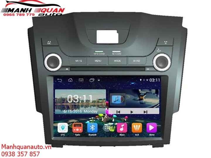 Màn Hình DVD Android Cao Cấp Theo Xe Chevrolet Colorado | 0965789779